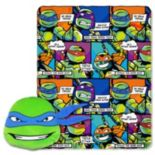 Teenage Mutant Ninja Turtles Good Guys Leo Pillow & Throw Set