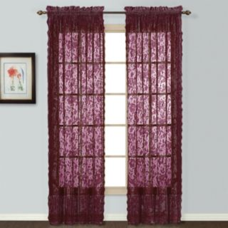 United Window Curtain Co. 1-Panel Windsor Lace Window Curtain