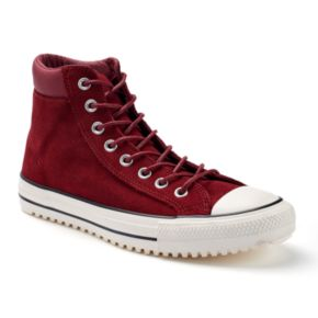 Men's Converse Chuck Taylor All Star Waterproof Suede Boot Sneakers