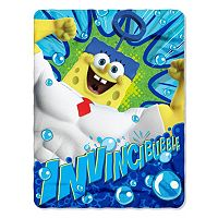 SpongeBob SquarePants Movie Power Fleece Throw