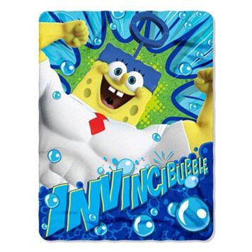 SpongeBob SquarePants Movie Power Fleece Throw