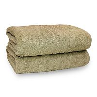 Pacific Coast Textiles 2-pack Spa Collection Bath Sheet