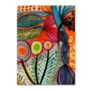 Trademark Fine Art Vivaces Canvas Wall Art