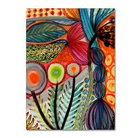 Trademark Fine Art Vivaces Canvas Wall Art