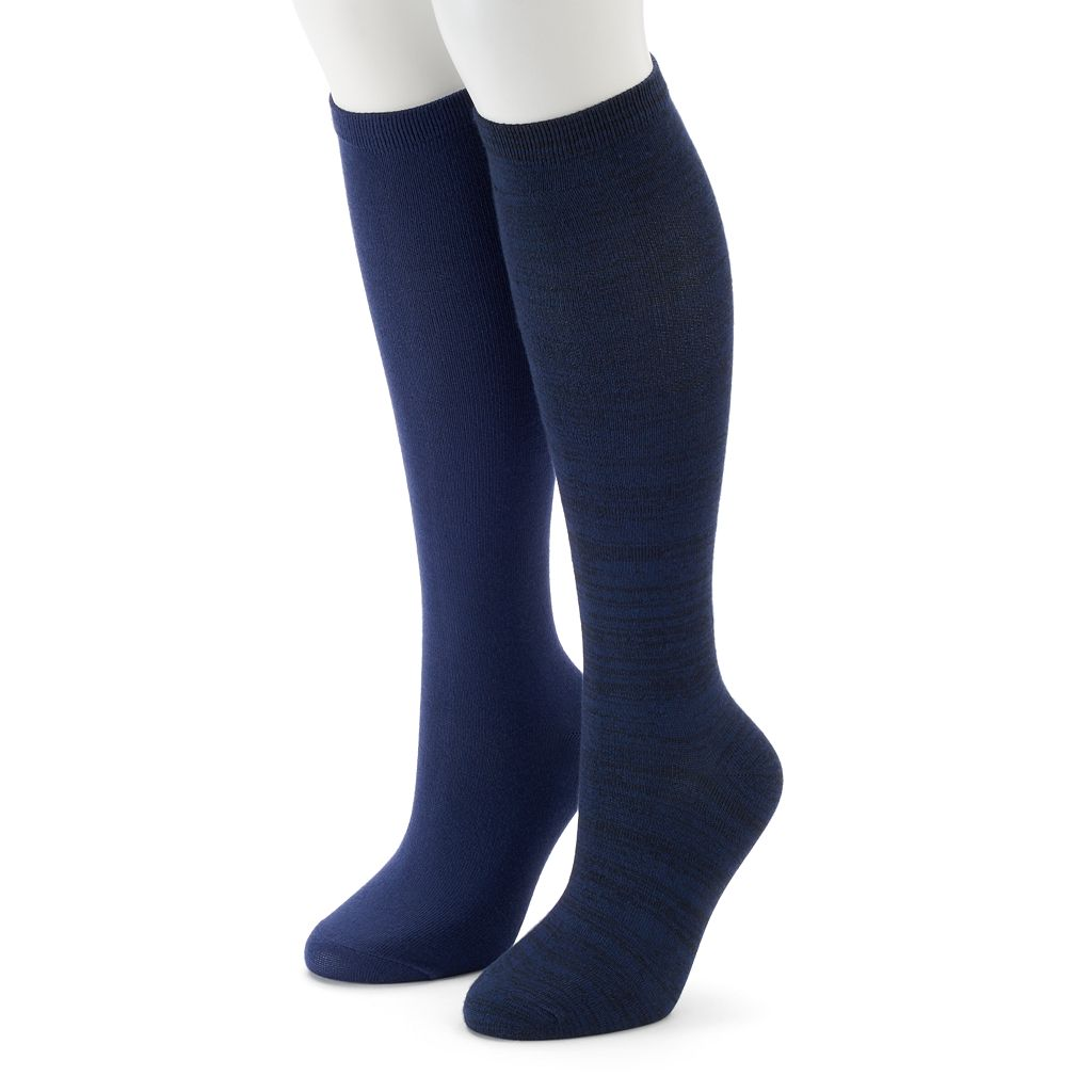 Women's SONOMA Goods for Life™ 2-pk. Knee-High Socks
