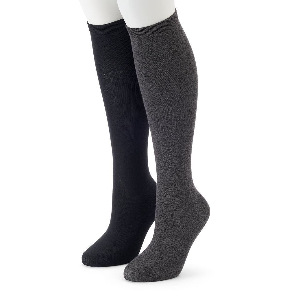 Women's SONOMA Goods for Life™ 2-pk. Marled Knee-High Socks