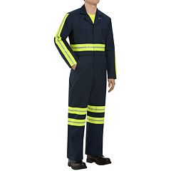 Men's Red Kap Enhanced Visibility Coverall
