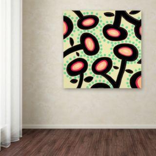 Trademark Fine Art Mon Jardin Canvas Wall Art