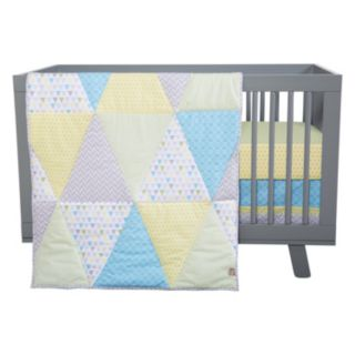 Trend Lab Triangles 3-Piece Crib Bedding Set