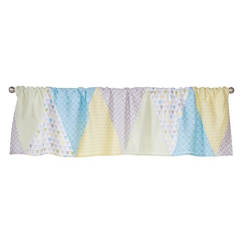Triangles Window Valance