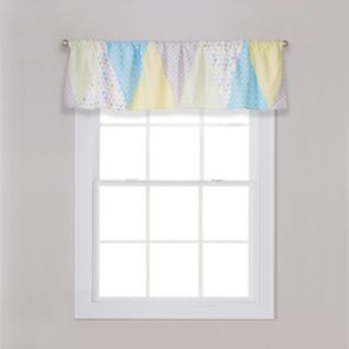 Triangles Window Valance