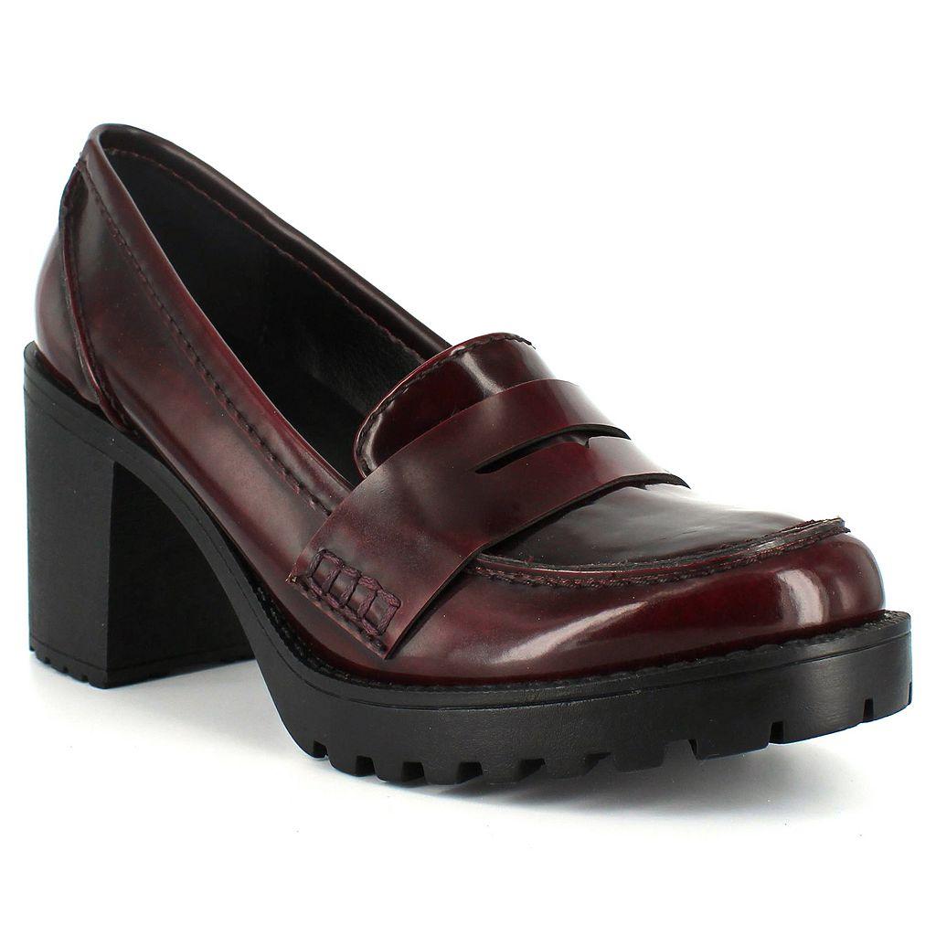 Dolce by Mojo Moxy Jukebox Women's Chunky-Heel Loafers