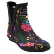 London Fog Piccadilly Women's Chelsea Waterproof Rain Boots