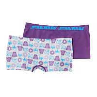 Girls 6-16 Star Wars 2-pk. Seamless Boyshorts