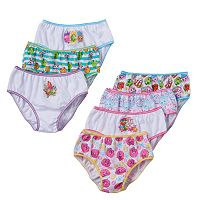 Girls 4-8 Shopkins 7 pkBikini Panties