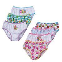 Girls 4-8 Shopkins 7-pk. Bikini Panties