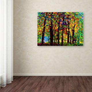 Trademark Fine Art Standing Room Only Canvas Wall Art