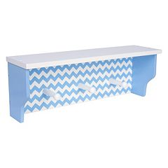 Trend Lab Blue Sky Nursery Chevron Shelf