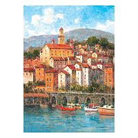 Waterfront Canvas Wall Art