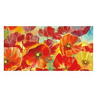 A Poppy Garden Canvas Wall Art