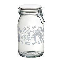 Global Amici Pet Lifestyle 6-pc. Hermetic Glass Storage Jar Set