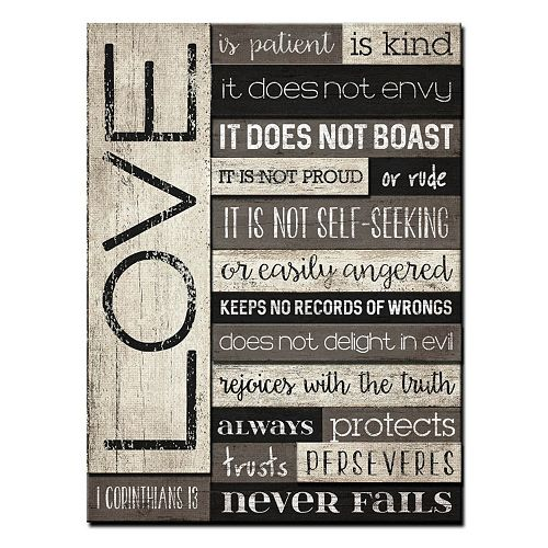 Love is Patient\