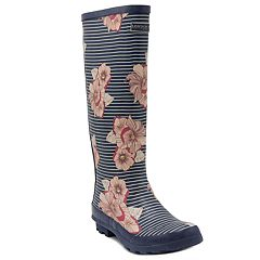 London Fog Thames Women's Waterproof Rain Boots