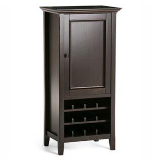 Simpli Home Amherst Wine Cabinet