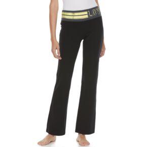 Juniors' SO® Lounge Contour Bootcut Yoga Pants
