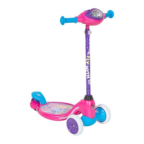 Girls My Little Pony Lights & Sounds 3-Wheel Scooter