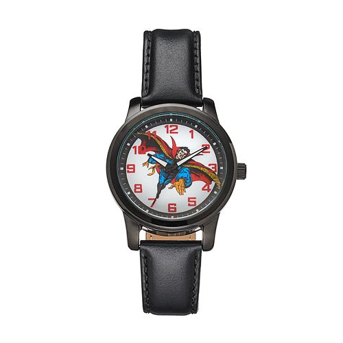 Marvel Dr. Strange Men's Leather Watch