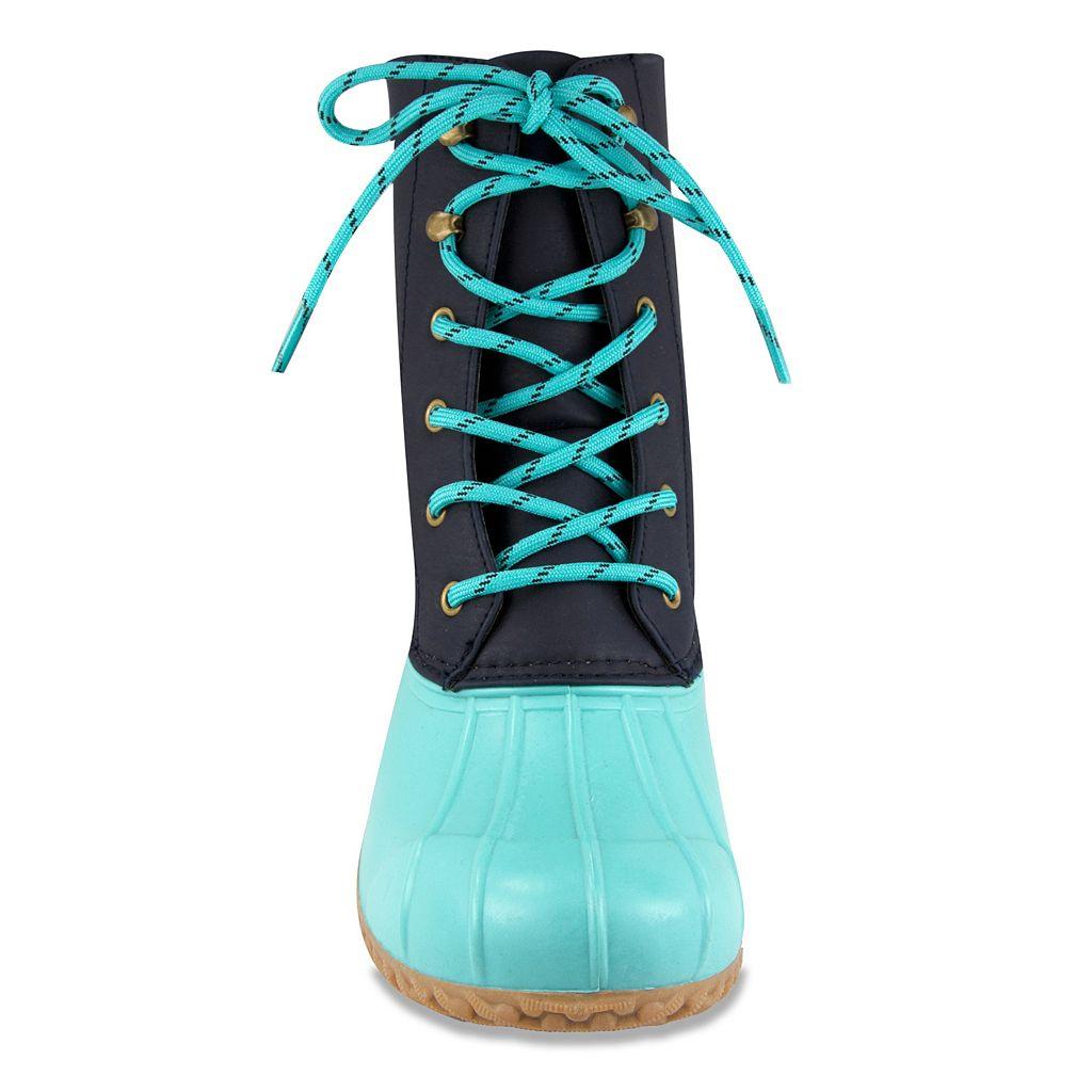 London Fog Wynter Women's Waterproof Rain Boots