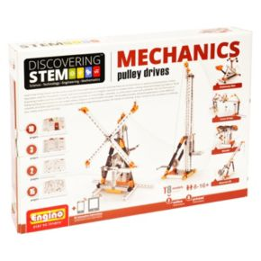 Engino STEM Mechanics Pulley Drives Kit