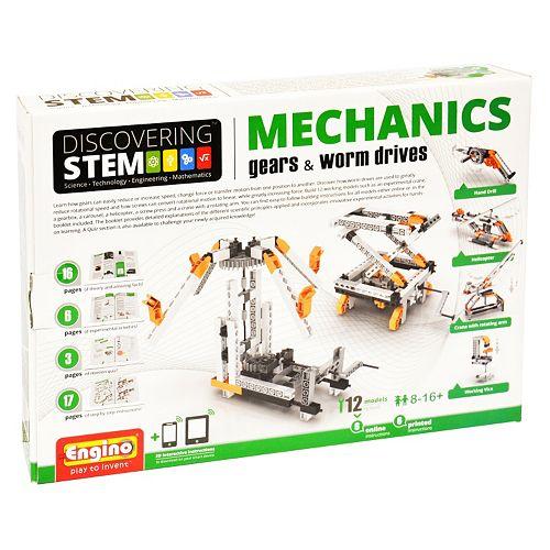Engino STEM Mechanics Gears & Worm Drives Kit