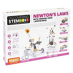 Engino STEM Mechanics Newton's Laws: Inertia & Energy Kit