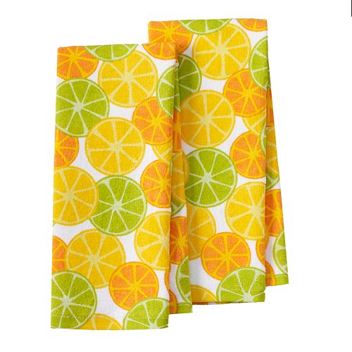IMUSA Citrus Kitchen Towel 2-pk.