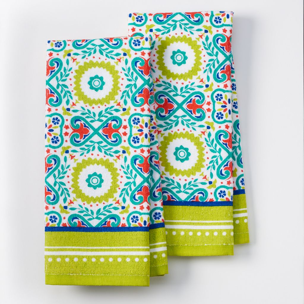IMUSA Medallion Kitchen Towel 2-pk.