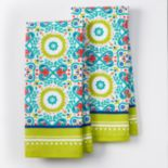 IMUSA Medallion Kitchen Towel 2-pk.