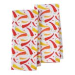 IMUSA Peppers Kitchen Towel 2-pk.