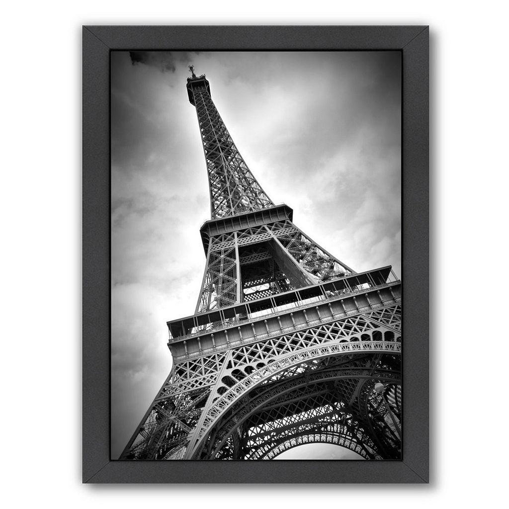 Americanflat Paris Eiffel Tower Dynamic Framed Wall Art