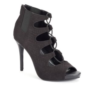 Jennifer Lopez Women's Lace-Up High Heels