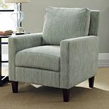 Simpli Home Jakob Club Arm Chair