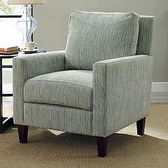 Simpli Home Jakob Club Arm Chair