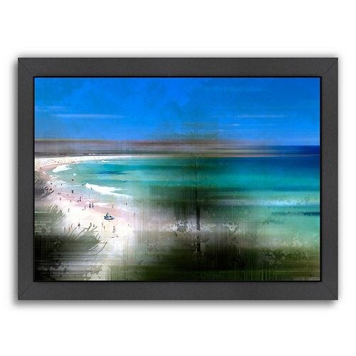 Americanflat Scenery Art Bondi Beach Framed Wall Art