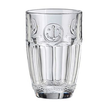 Global Amici Harbor Anchor 4-pc. Highball Glass Set