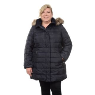 Plus Size Fleet Street Quilted Down Jacket