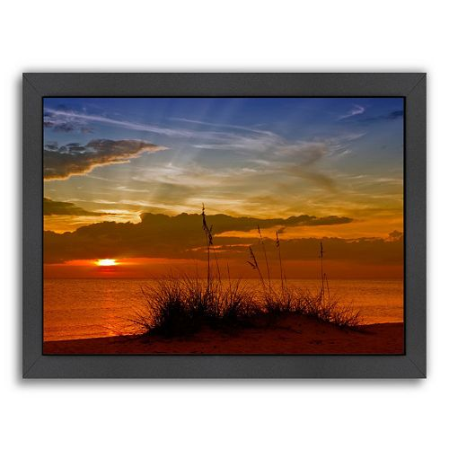 Americanflat Gorgeous Sunset Framed Wall Art