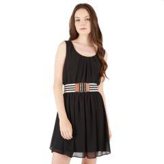 Juniors Black Skater Dresses, Clothing | Kohl's