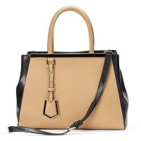 Donna Bella Madison Textured Convertible Leather Tote
