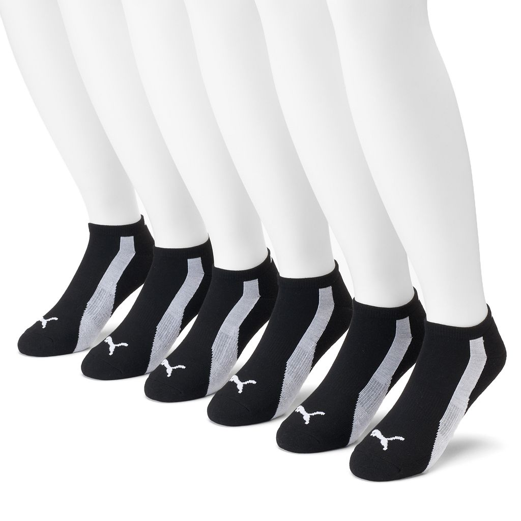 Men's PUMA 6-Pack Low-Cut Socks